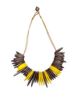 """Kyokya dřevěný náhrdelník """"Rachel"""" K027"""