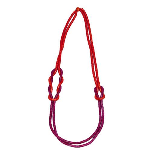 """Kyokya dřevěný náhrdelník """"Bundle"""" K034"""