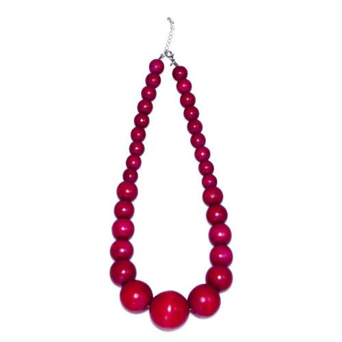 """Kyokya dřevěný náhrdelník """"Loren"""" K020"""