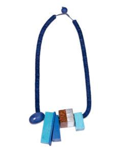"""Kyokya náhrdelník """"Aubrey"""" modrý"""