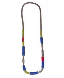 Kyokya dřevěný náhrdelník Elise červený K066