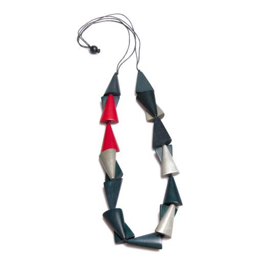 """Kyokya dřevěný náhrdelník """"Mayumi"""" K159"""